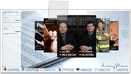 EMS Fire Law Attorney website